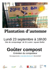 Gouter compost  à St Lucien @ Site de compostage St Lucien | Beauvais | Hauts-de-France | France
