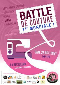 Octobre rose : Première  battle mondiale  de  couture @ Maison d 'Economie Solidaire | Lachapelle-aux-Pots | Hauts-de-France | France