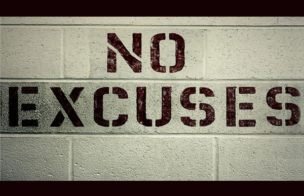 accountability no excuses
