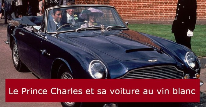 blog vin beaux-vins Aston Martin Prince Charles oenologie dégustation essence voiture vins