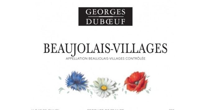 Blog vin Beaux-Vins ordre dégustation vins oenologie beaujolais villages georges duboeuf