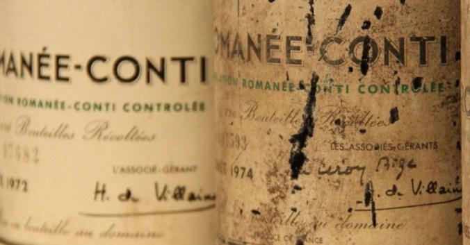 vente aux encheres contrefacon vin romanee conti 1978
