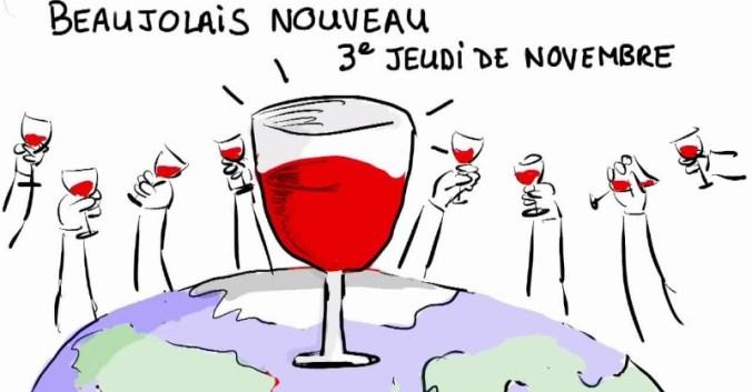 blog vin beaux-vins oenologie dégustation beaujolais nouveau 2017