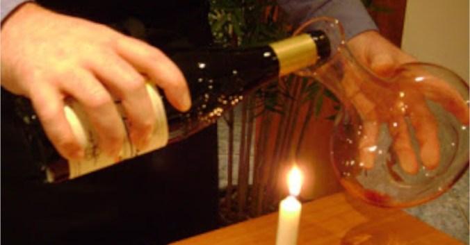 Blog vin Beaux-VIns carafe carafer décanter décantation