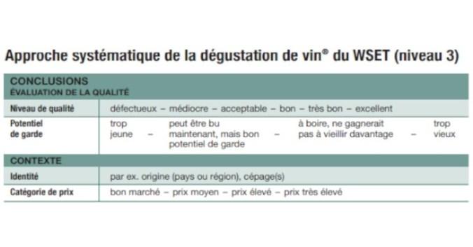 Blog Beaux-Vins dégustation déguster conclusion oenologie vin