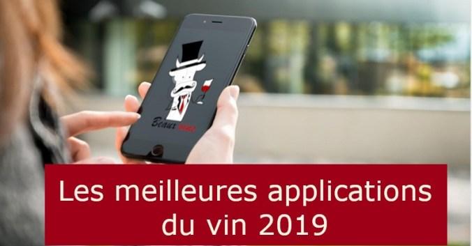 Blog vin Beaux-Vins meilleures applications app vins 2019