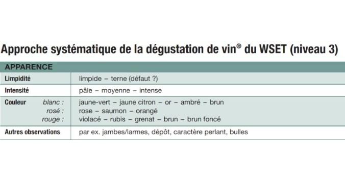 blog vin Beaux-Vins apprendre visuel dégustation déguster vins
