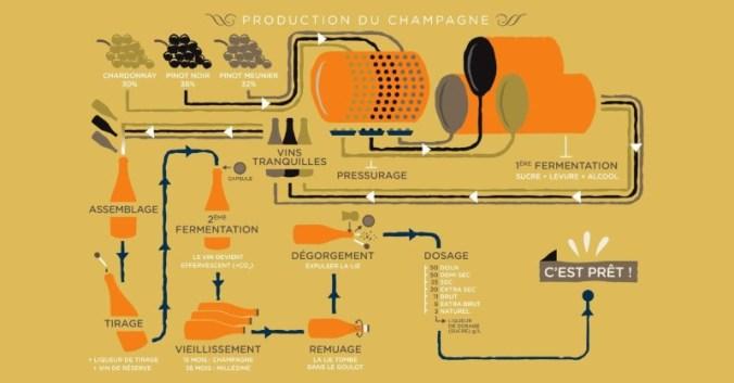 Blog vin beaux-vins oenologie dégustation vins étapes production Champagne vignoble viticole