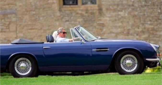 blog vin Beaux-Vins oenologie dégustation essence voiture Prince Charles Aston Martin