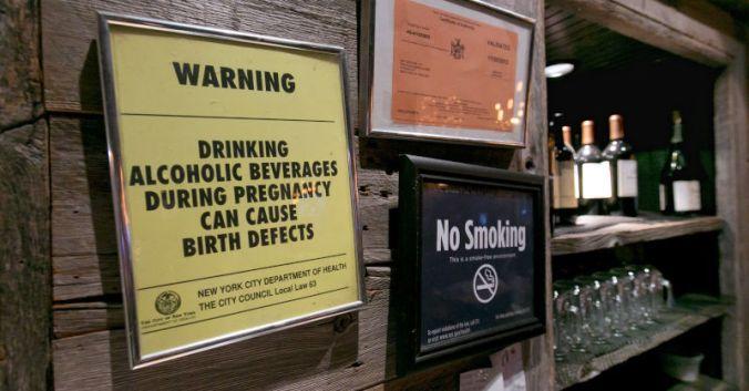 Blog vin Beaux-Vins new york discrimination servir vin femme enceinte