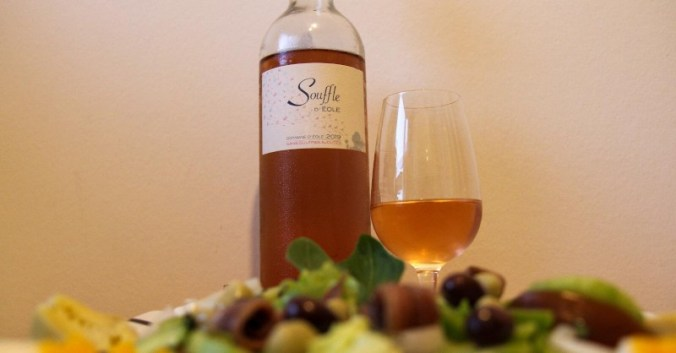 blog beaux-vins accord mets recette salade nicoise vin rose souffle d eole