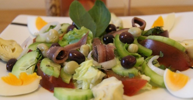 blog beaux-vins accord mets vin recette salade nicoise