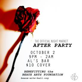 Night Market After Party: October 2, 2015.
