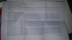 Bionova Regimen Instructions 3