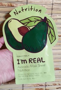 tonymoly avocado mask 1