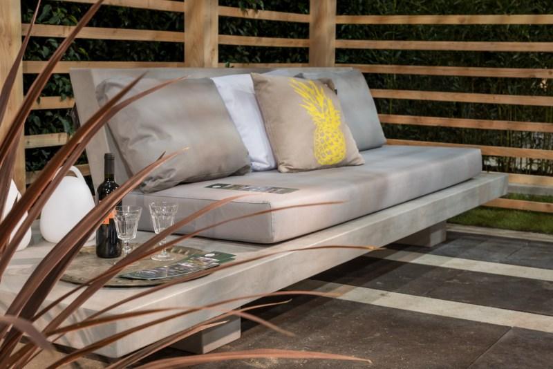 Polyester composiet loungebank