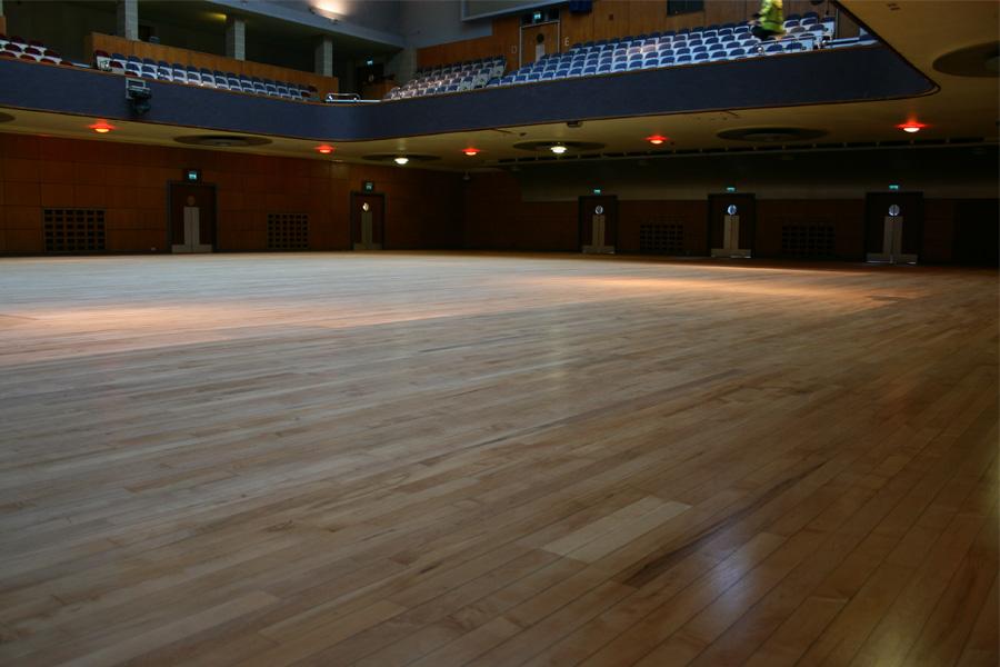 Restored wooden floor birmingham