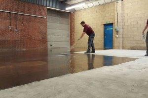 Epoxy Floor Priming