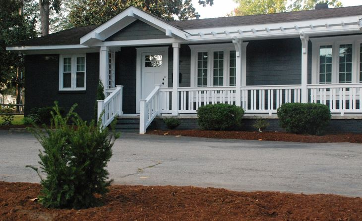 A duplex property located at 230 & 240 W. Connecticut Ave. Southern Pines, NC