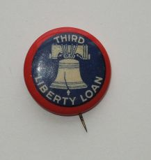 1918 Third Liberty Loan pin