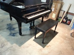 Steinway standing tall