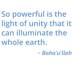 So powerful is the light of unity quote