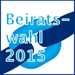 Logo der Beiratswahlen 2015