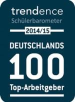 Siegel Deutschlands 100 Top Arbeitgeber