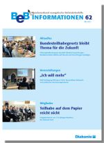 Cover der BeB Informationen 62