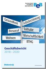 Cover des Geschäftsberichts 2020