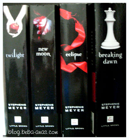 My Collections of The Twilight Saga