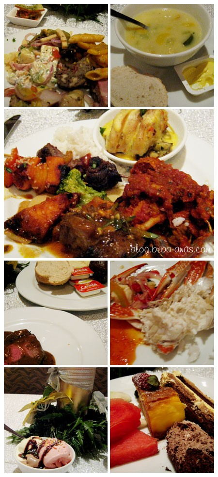 Buffet foods at Sutera Harbour..yummy2..