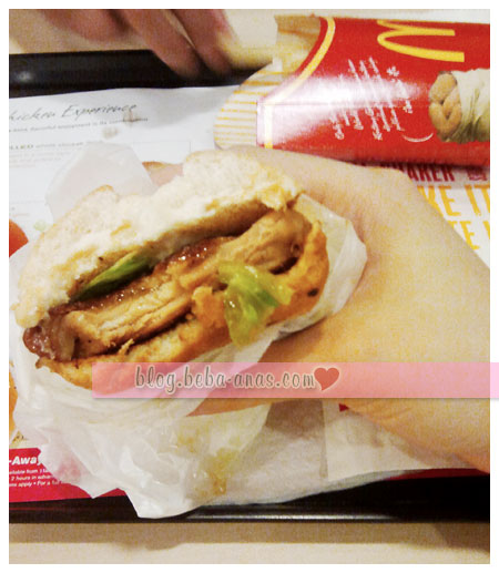 GCB McDonald sedap~~~~