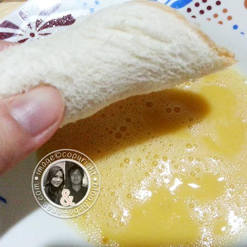 Resipi untuk sarapan pagi - Roti Hotdog Cheese Gulung