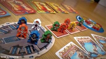 Piratas agua juego de mesa familiar Tranjis