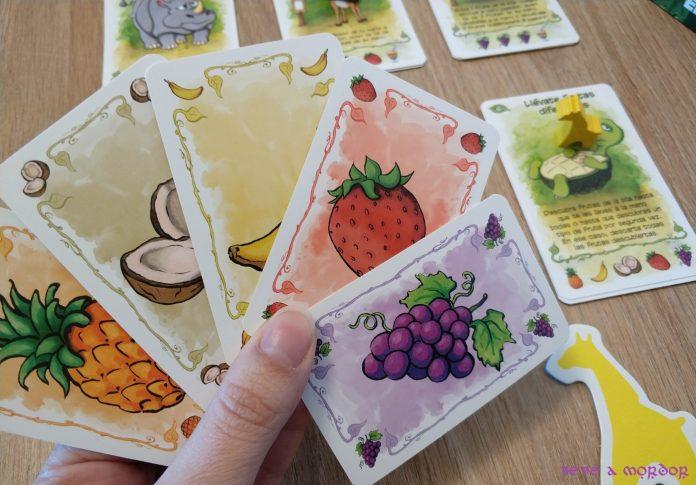juego de mesa Frutas Fabulosas Asmodee