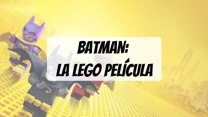 PORTADA reseña Batman La Lego Película para niños