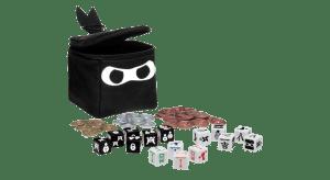 Ninja Dice boardgame for English