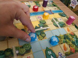 movimiento en Magic Maze Kids