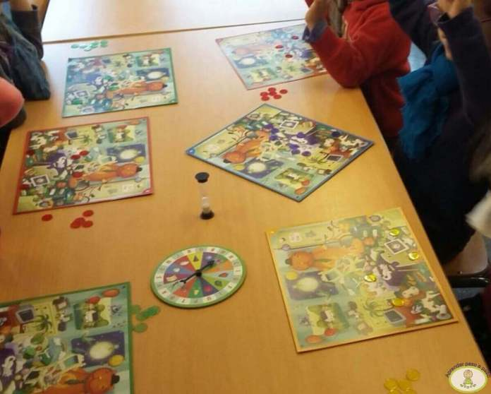 juegos en el aula Kaleidos