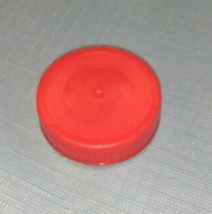 tapón rojo