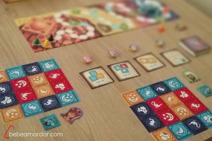 imagen ilustrativa de la mesa en juego