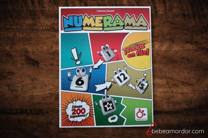 Caja de Numerama - juego de mesa de Mercurio