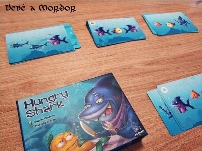 caja juego de mesa Hungry Shark Átomo