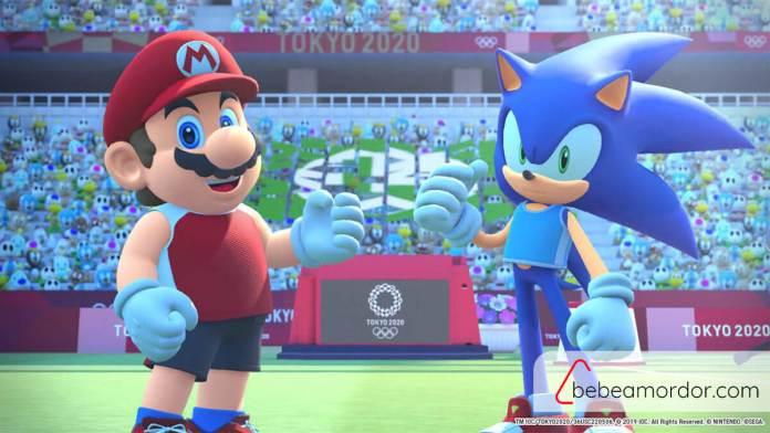 Intro Mario & Sonic en los juegos olímpicos