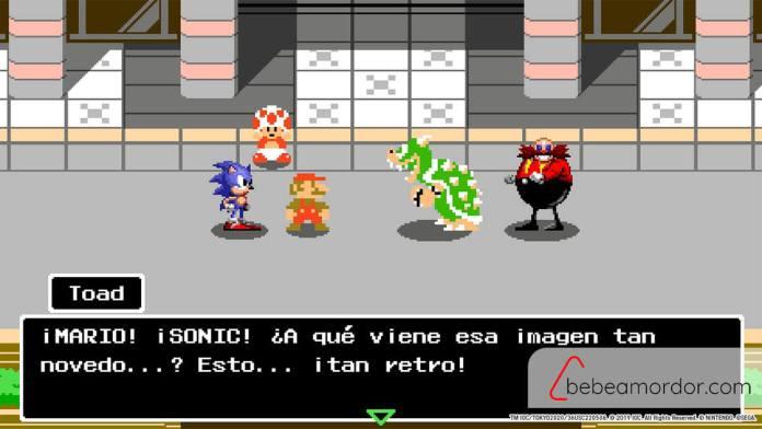 Mario y sonic 1964