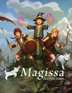 Magissa juego de rol para niños