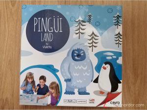 caja juego de mesa Pingüiland