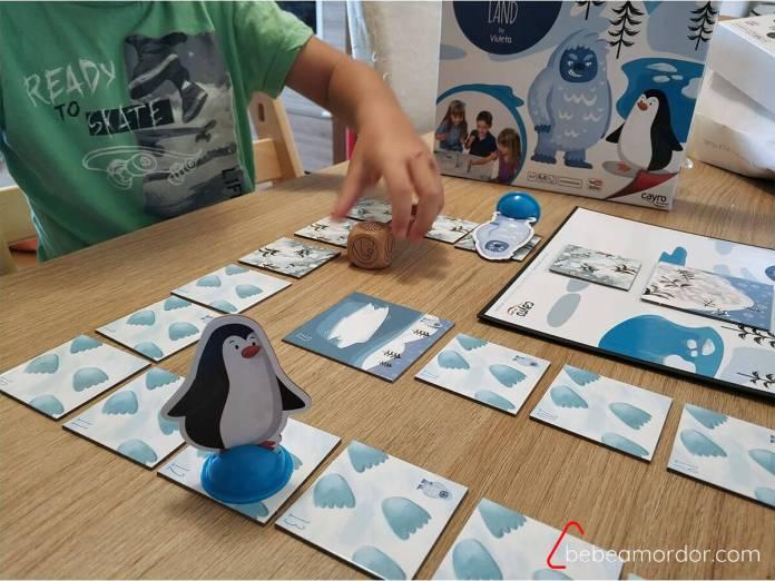 juego de mesa Pingüiland 4 años