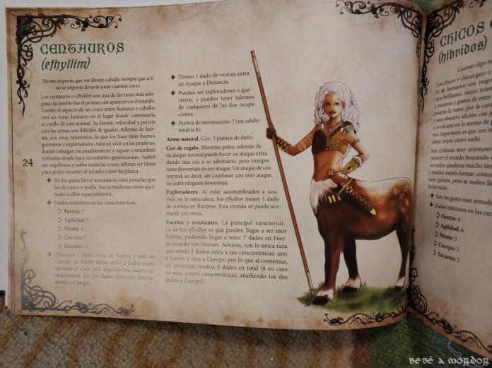 raza centaura de Magissa